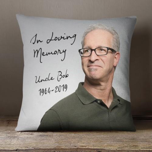 Throw Pillow - In Loving Memory